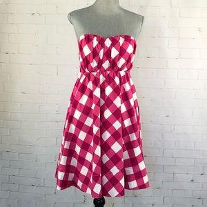 The Limited Strapless A-line Summer Dress SZ 0